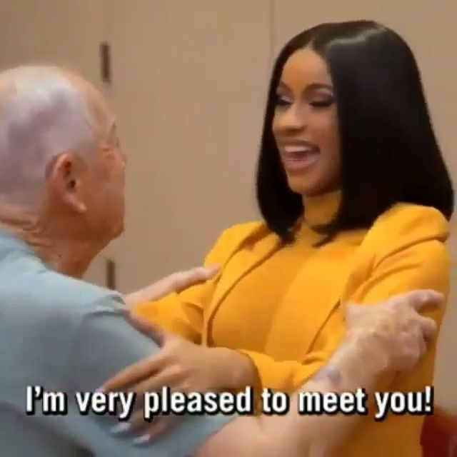 Cardi B proves she has some good manner genes after all. See more at that slaylebrity life