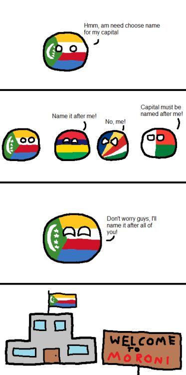Cool Comoros's Capital via reddit