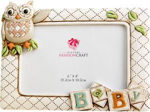 Gifts Baby Owl Picture Frame