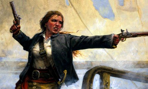 Anne Bonny and Mary Read were two of the most feared female pirates of the early 18th century, and this history video gives a brief overview of just how unusual these two female pirates were!  After stabbing a servant girl with a table knife and marrying a small-time pirate, James Bonny, Anne was disowned by her father. She moved to New Providence in the Bahamas, where she met Jack Rackham, captain of the pirate ship Revenge, and became his mistress and fellow pirate.  Mary Reade joined…