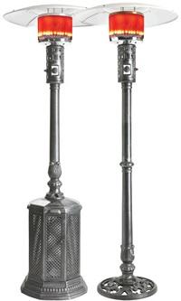 Napoleon Cast Aluminum Series http://www.classicfireplace.ca/patio-heaters.html