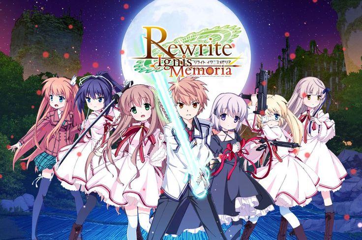 Key's Rewrite Visual Novel Gets Rewrite IgnisMemoria Smartphone Game