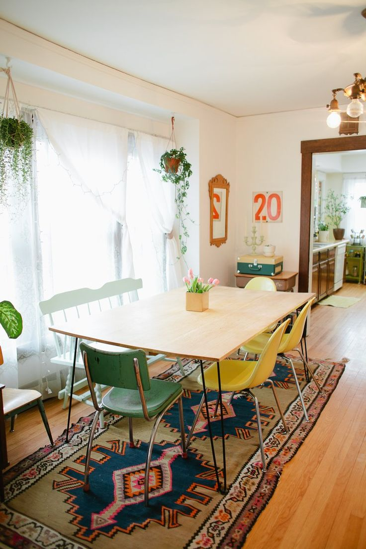 this is a good idea, and I love the rug and airy room! :) Tidy Time vs. Tidy All The Time: A Key Concept To A Cleaner Home - from apartmenttherapy