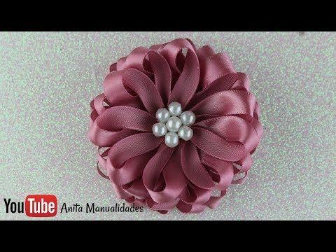 Flor Sally Paso a Paso - YouTube