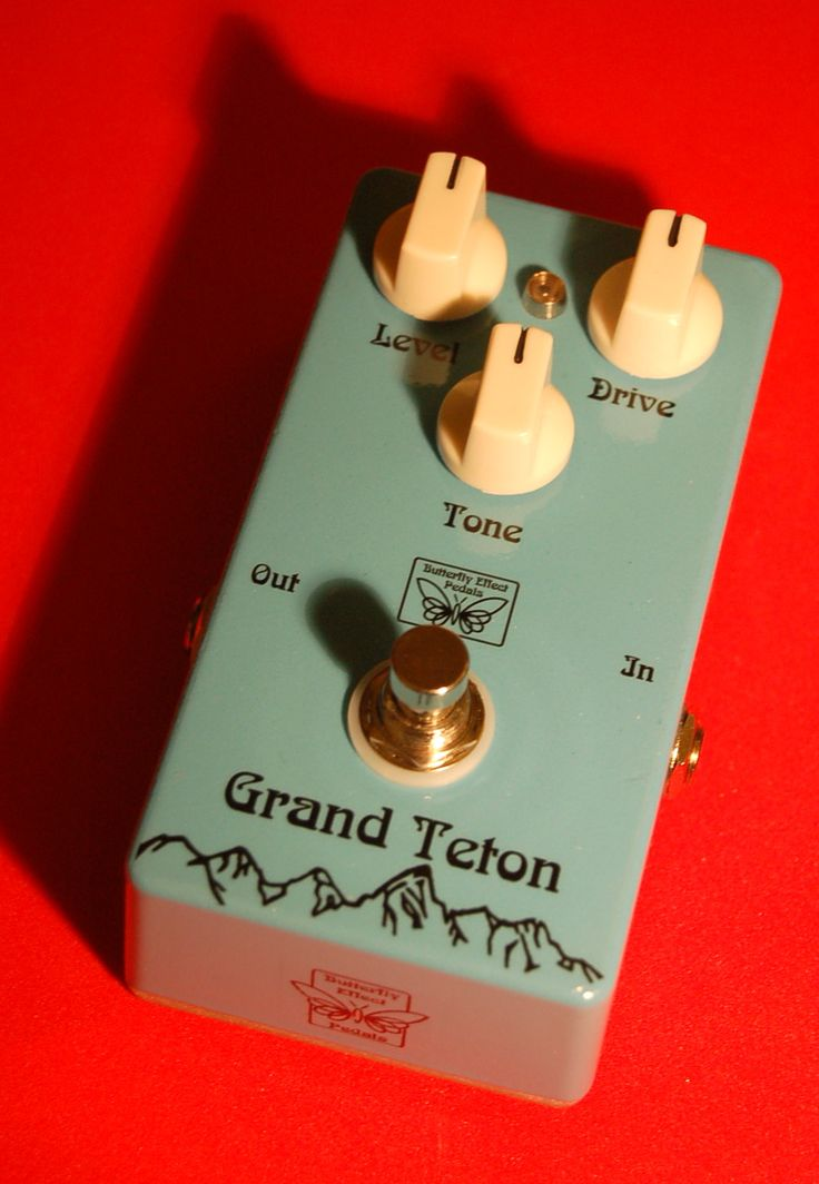 Grand Teton power distortion.