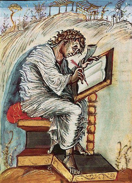 Vangeli di Ebbone - San Matteo, ante 823 d.C.
