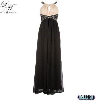 Dámske oblečenie   Dámske šaty   Little Mistress Maxi šaty čierne   www.nells.sk - Parfumy, kozmetika a oblečenie svetových značiek.