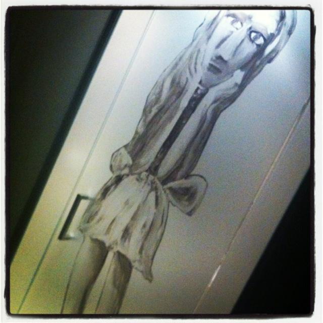 'Alice' on the door, Blackman Hotel, Melbourne