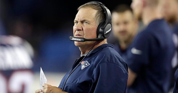 Patriots Head Coach Bill Belichick gives an interview on WEEI's 'Dale and Holley…