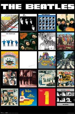 Beatles Album Covers