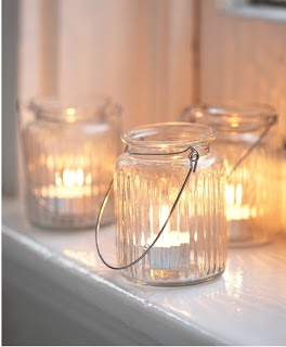 easy - tealight, glas & wire