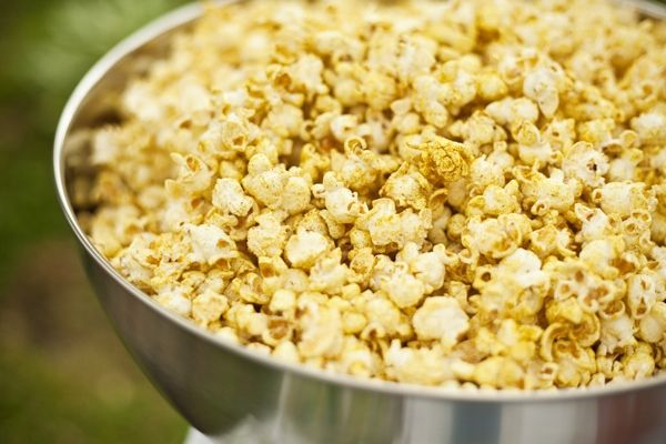 Curry Popcorn Recipe from Prairie Hive