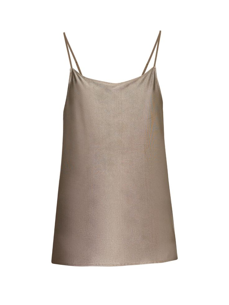Silver-plated cami top | Arjuna.AG | MATCHESFASHION.COM US