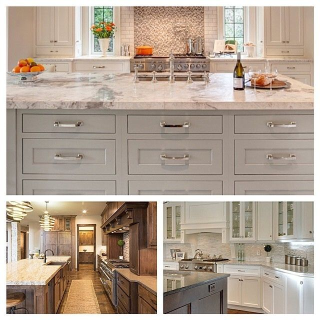 Stylish Two Tone Kitchen Cabinets For Your Inspiration: 17+ Best Ideas About Two Toned Kitchen On Pinterest