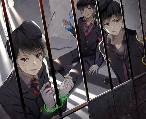 Osomatsu-san- Osomatsu, Ichimatsu, and Todomatsu #Anime「♡」Cops