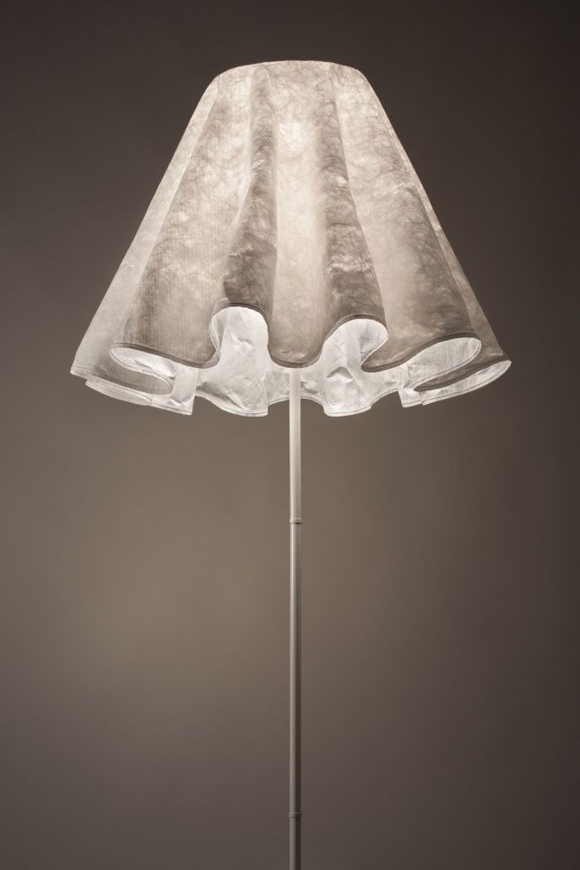 A night light. Marylin lamp designed by Lubovka