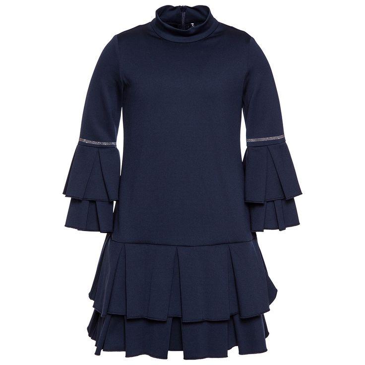 Платье Frou Frou из джерси Девочка, Shop Online | MonnalisaПлатье Frou Frou из джерси, Девочка, Интернет-магазин | Monnalisa
