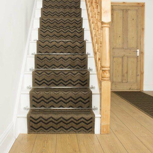 Best Abrego Flatweave Dark Brown Stair Runner Union Rustic Rug Size Runner 570Cm X 80Cm Rustic 400 x 300