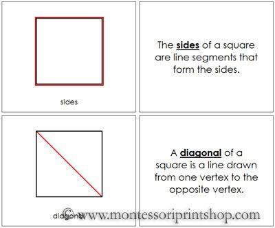 Best Montessori Geometry Materials Images On