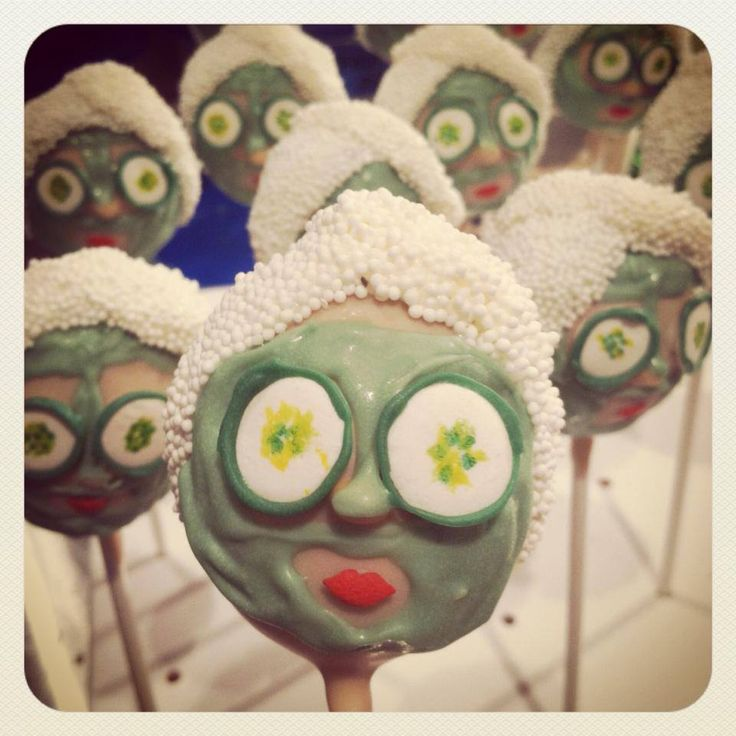 Spa Pops cake pops Give us a call to place your order 732.383.5602  Lil Cutie Pops in Red Bank New Jersey #cakepop #party ORDER ONLINE: http://squ.re/1ByCj5S