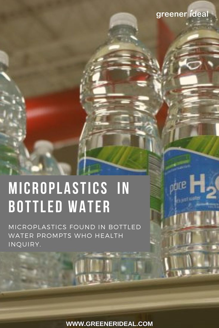Microplastics Found In Bottled Water Prompts Who Health Inquiry