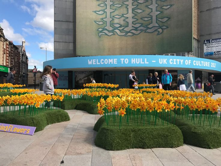 https://pbs.twimg.com/media/C9C45zgXsAEqHnJ.jpg Only a couple seats left for April 18th's CQ certification training in London! Hurry you may be lucky ones! https://culturalq.com/products-services/certification/ The temporary installation is part of Hull's City of Culture 2017 event, a celebration highlighting the city's arts and culture.   The display in the East Yorkshire city's King Edward Square features 1,700 daffodils made from a whopping 146,400 Lego bricks.