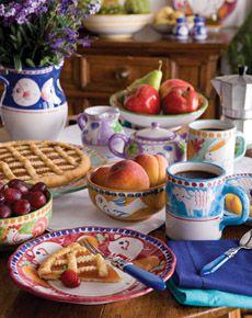 Vietri Dinnerware, Glassware  Flatware - Vietri Lamps  Garden Pots