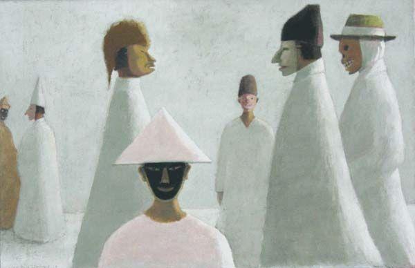 Les masques, Jean-Paul Lemieux