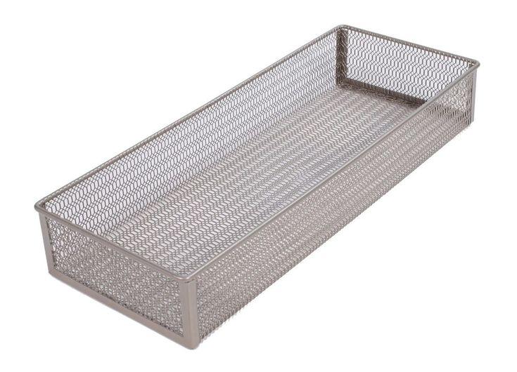 Tidy Living - Mesh Storage Tray - Basket Organizer Kitchen Bathroom Bin #TidyLiving