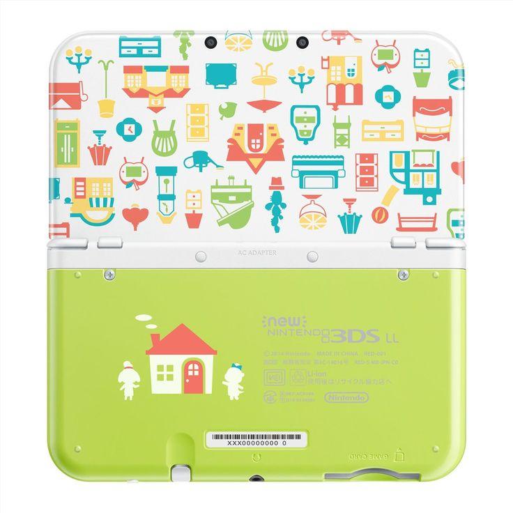 Amazon.co.jp: Newニンテンドー3DS LL どうぶつの森 ハッピーホームデザイナー パック: ゲーム