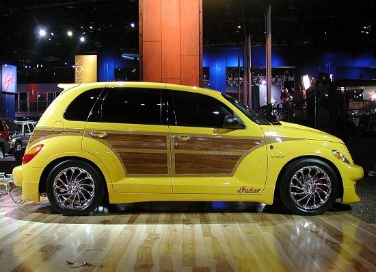 Have always loved the woody-style and yellow as a PT color - I think the rear spoiler is inconsistent with the rest of the look but love it overall...