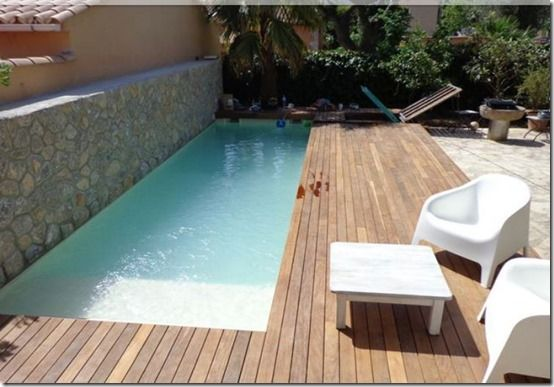 Piscinas peque as buscar con google small pools for Ideas para decorar un patio con piscina