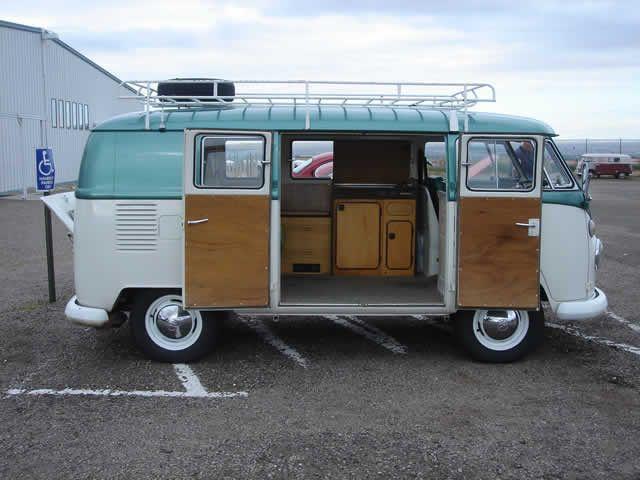 Van For Sale Walk Through Camper Split Window Bus