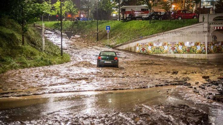 Deutscher Wetterdienst warnt. Erneut Unwetter im Südwesten erwartet - Stuttgart - Bild.de