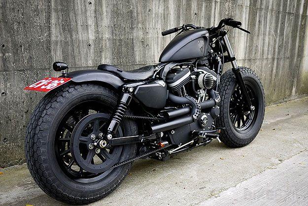 2009 Harley-Davidson Sportster Iron 883 Builder: Winston Yeh City/state: Taipei, Taiwan Company: Rough Crafts #harley48 #harleyfortyeight #harleyxchange
