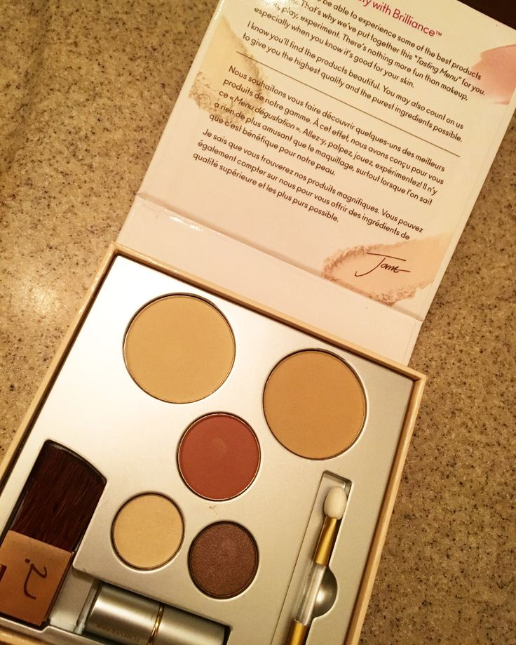 Free sample kit of Jane Iredale from Influenster. Mineral