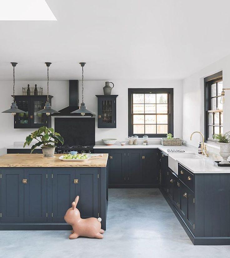 Image Result For Devol Pantry Blue Kitchen Cabinet Layout Kitchen Design Kitchen Decor Pictures