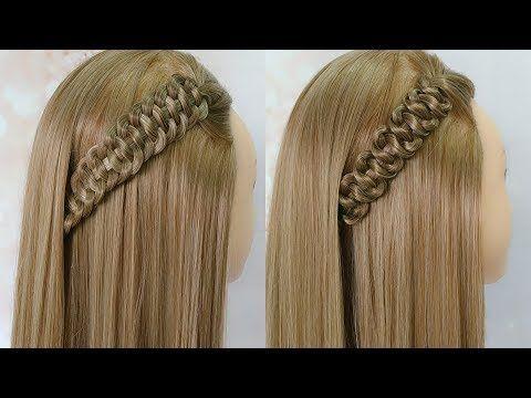 Trenza de 4 de raíz / Trenza de 4 d'arrel / 4 strand dutch braid - YouTube