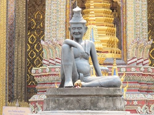 """Bangkok, Thailand Grand Palace from """"How to Experience Thailand by Learning Thai Language Immersion in the Kingdom."""""""