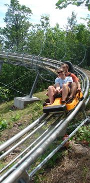 Spirit Mountain - Skiing & Snowboarding - Alpine Coaster - Duluth, MN #37 and would do it again in a heartbeat!