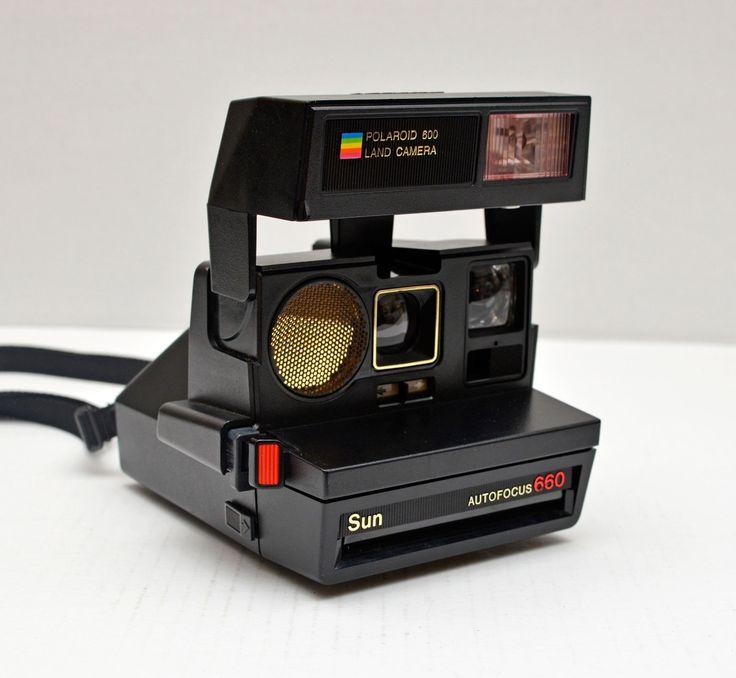 Polaroid 600 Land Camera SUN AUTOFOCUS 660 Instant Film Camera by vtgwoo on Etsy