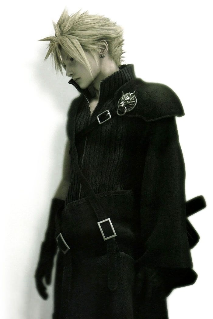 Cloud Strife - Characters & Art - Final Fantasy VII: Advent Children