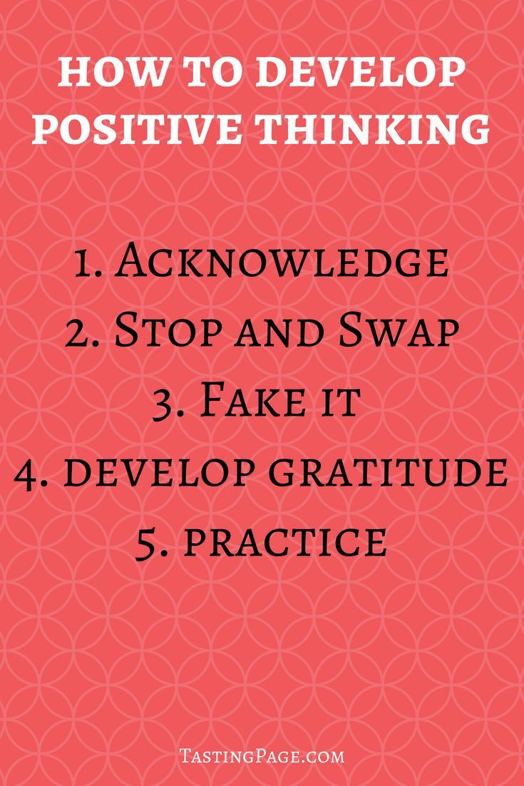 how to develop positive attitude towards dieting
