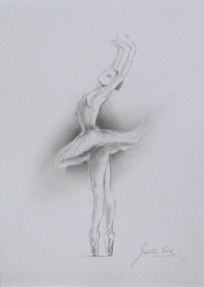 ORIGINAL crayon dessin 12 x 8 sur le livre blanc de par EwaGawlik