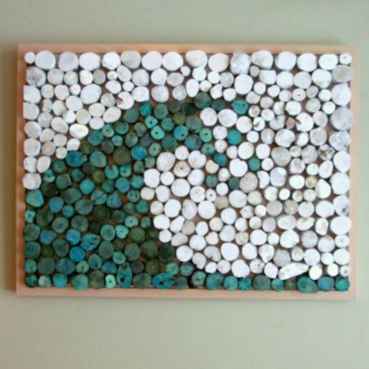 Large Driftwood Slice Wave Art www.driftingconcepts.com