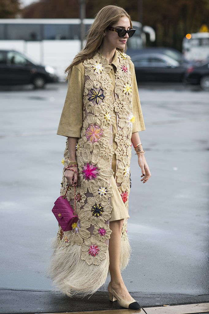 Chiara Ferragni rocked them around Paris Fashion Week with a boho-inspired twist, proving they go with just...