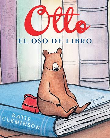 Historia de un oso que vivía en un libro en una estantería de una casa...