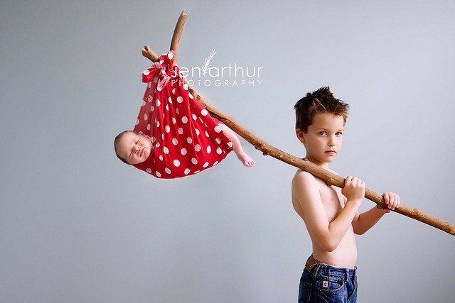 AMAZING baby & sibling photo