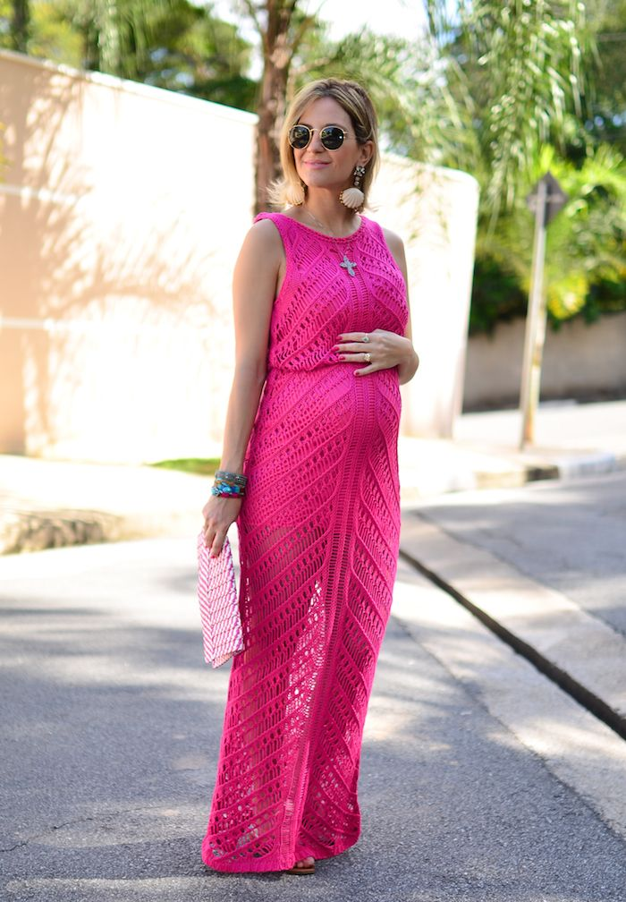 summer - dress - look gravida - lili paiva - pink - keep a secret blog