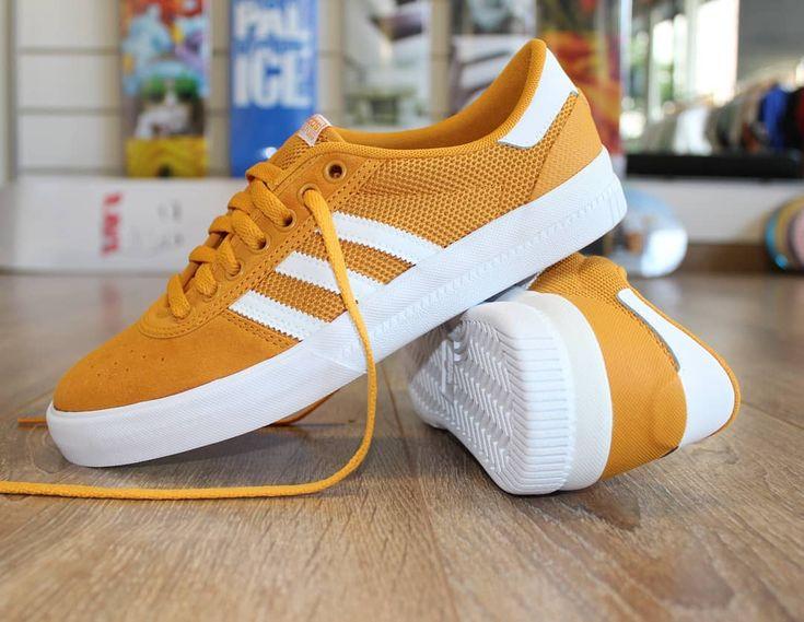 Adidas Skateboarding Lucas Premiere Tactile Yellow White now